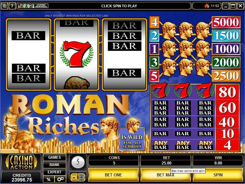 Spiele Roman Riches - Video Slots Online