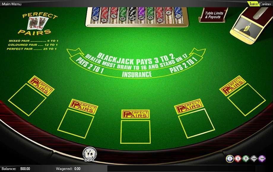Spiele Blackjack Perfect Pairs - Video Slots Online