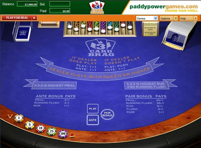 Card games poker