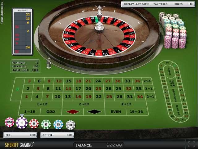 Spiele European Roulette (Rival) - Video Slots Online