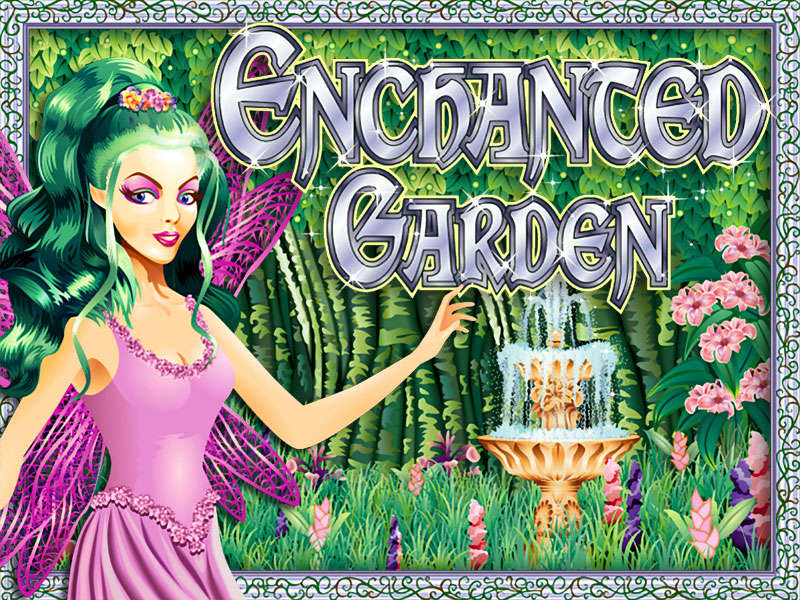 Slot machine enchanted garden