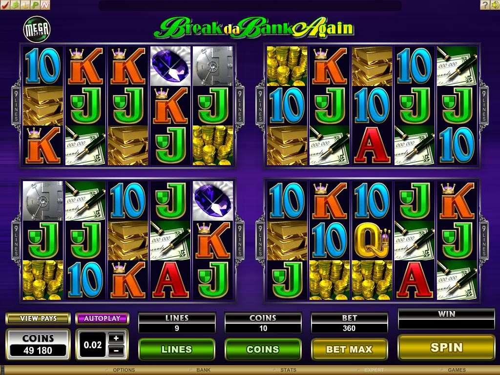 Mega Spins Break da Bank Slots with No Registration