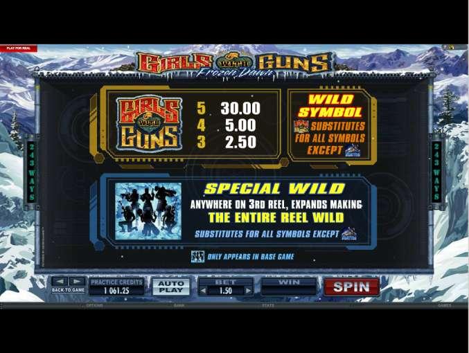 Spiele Girls With Guns - Frozen Dawn - Video Slots Online