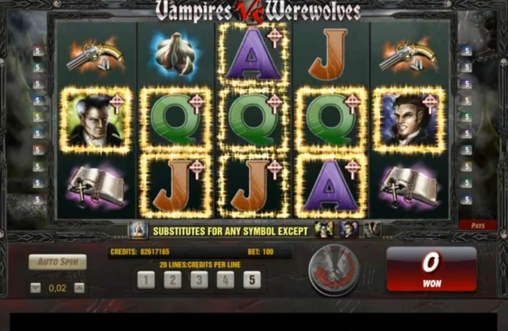 Vampires Werewolves Game