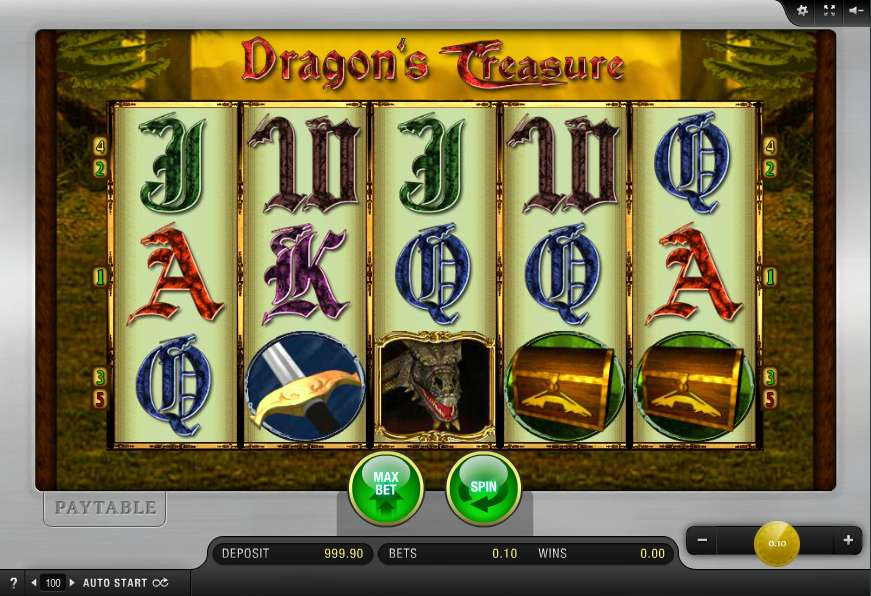 Dragons Treasure Slot By Merkur Gaming Review Demo Game