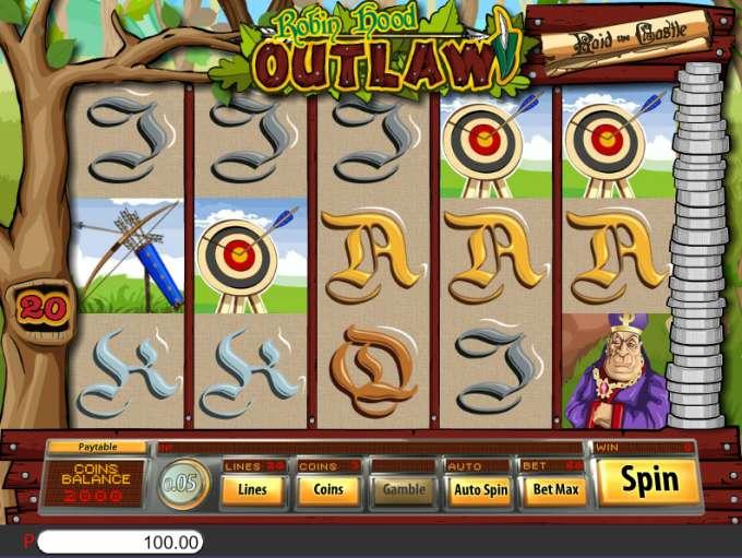 Spiele Robin Hood Outlaw - Video Slots Online