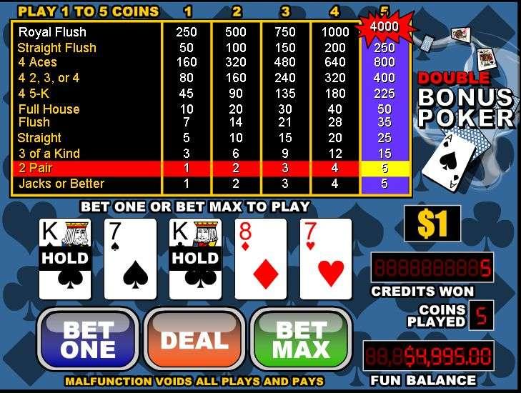 best deposit bonus poker