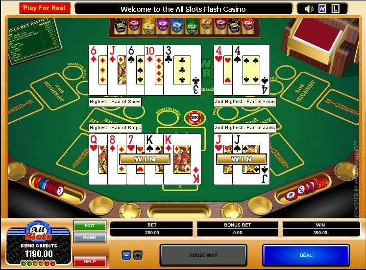 Free Pai Gow Poker No Download