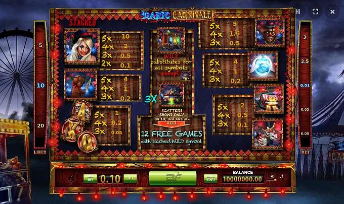 Spiele Dark Carnival - Video Slots Online