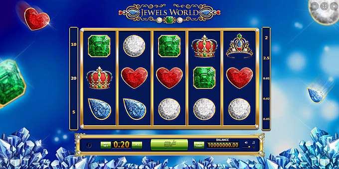 Jewels World Games