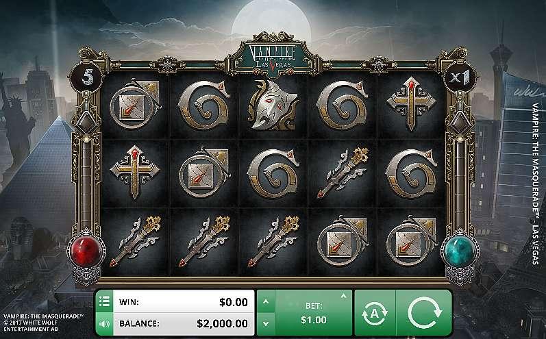 Spiele Vampire: The Masquerade – Las Vegas - Video Slots Online