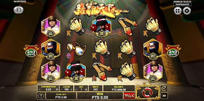 Fist Of Gold Slot By Spadegaming » Review + Demo Game