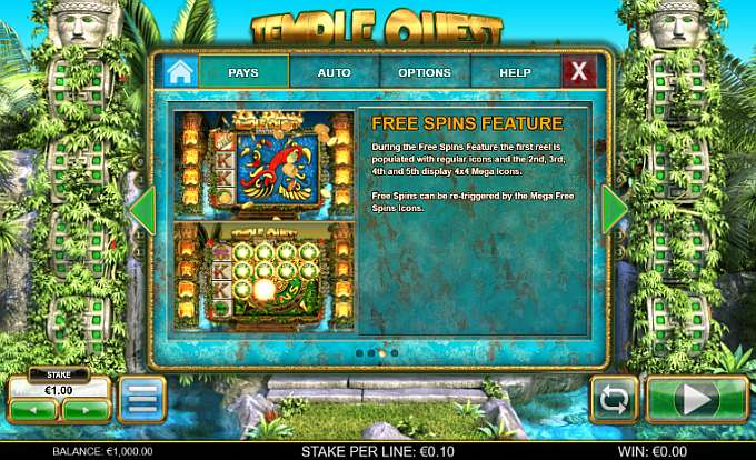 Spiele Temple Quest Spinfinity - Video Slots Online