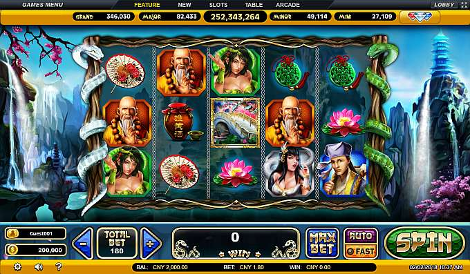 Spiele The Legend Of The White Snake - Video Slots Online