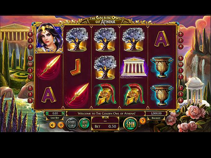 Spiele The Golden Owl Of Athena - Video Slots Online