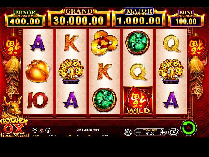 Golden Ox Slot By Ainsworth » Review + Demo Game