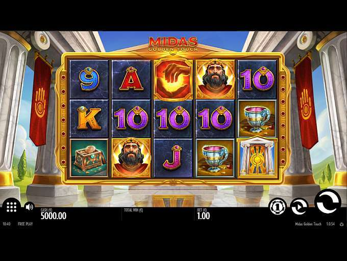 Spiele Midas Golden Touch - Video Slots Online