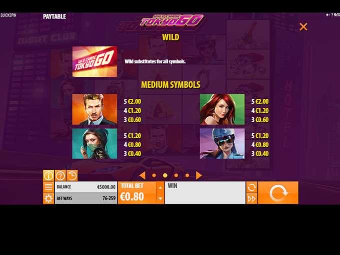 Spiele Wild Chase: Tokyo Go - Video Slots Online