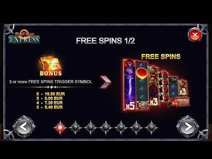 Spiele Blood Moon ExpreГџ - Video Slots Online