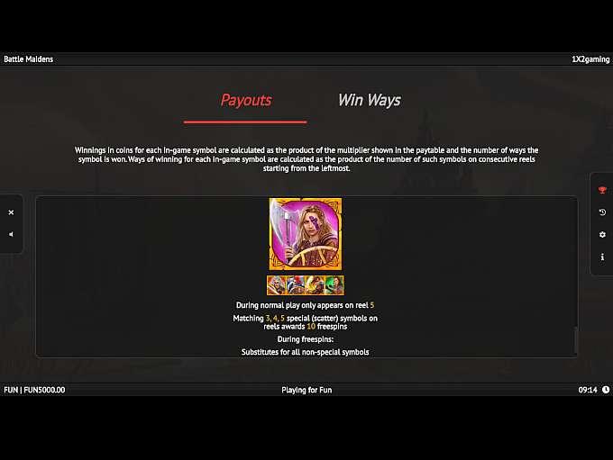 Spiele Battle Maidens - Video Slots Online