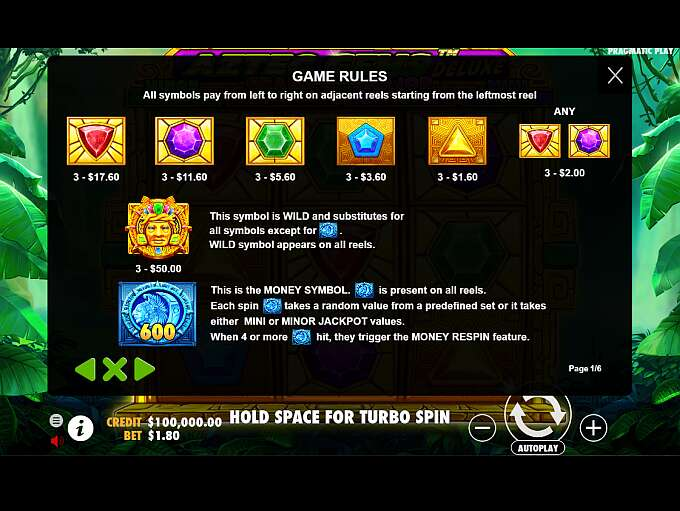 Aztec Gems Deluxe Slot By Pragmatic Play Review Demo Game