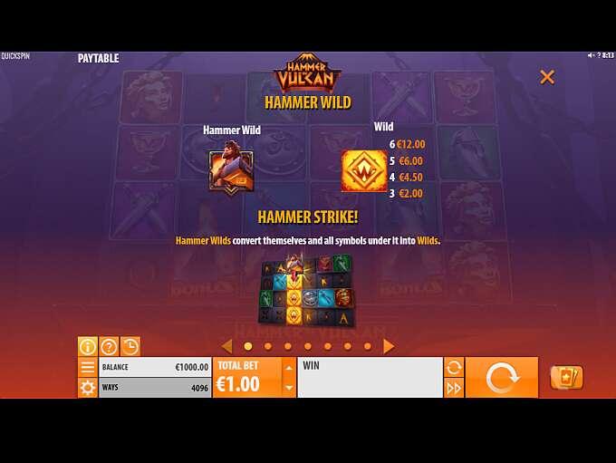 vulcan gold betting free