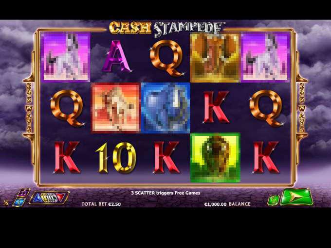 Cash stampede nextgen gaming slot game Çarşamba