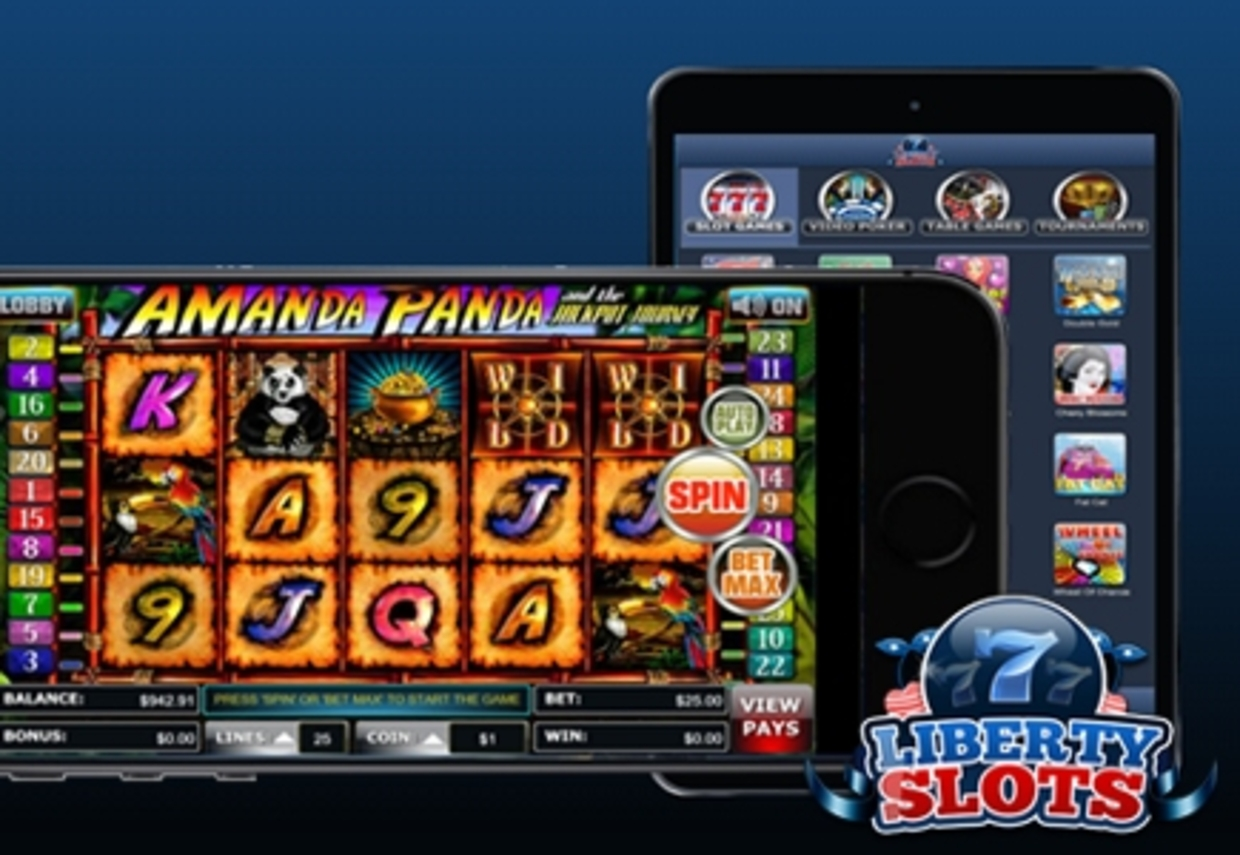 New Look For Liberty Slots Means Mobile Casino Bonus Up To 550