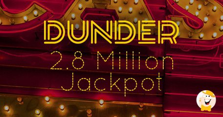 Dunder jackpots on slot machines
