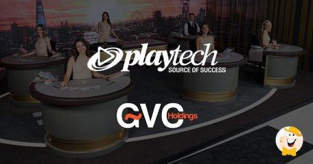 Playtech将与GVC Holdings合作推出Live Casino Studio