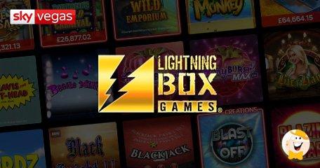 银狮咆哮宣布闪电盒子和Sky Vegas分销协议