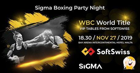 SoftSwiss赞助SiGMA赛事WBC世界冠军