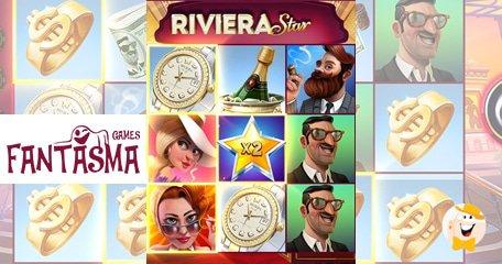 准备好成为Fantasma Games最新功能齐全的5x3视频插槽的里维埃拉之星