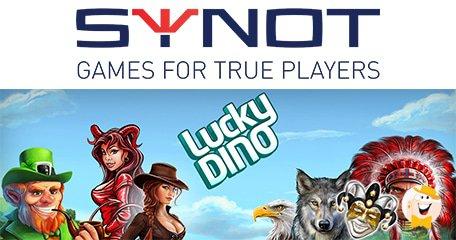 幸运迪诺赌场与SYNOT达成商业交易