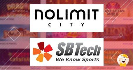 SBTech和Nolimit City宣布内容合作伙伴关系