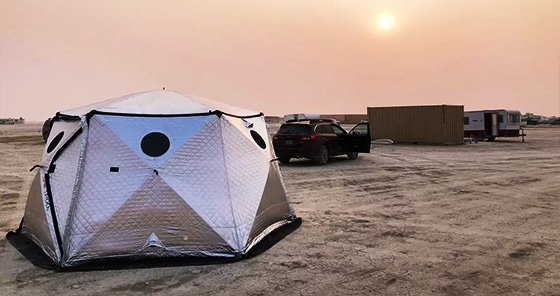 Shift Pod Burning Man